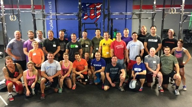 CrossFit Defense Seminar, June 28 & 29, 2014 at CrossFit Mayhem